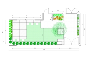 Planta Jardín