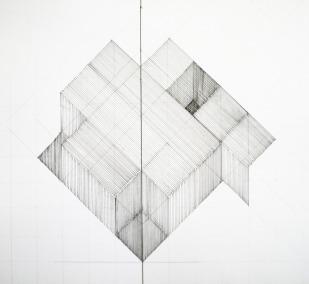 Studio House/ Isometric Drawing/ Tatiana Bravo