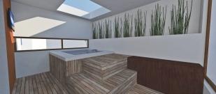 Render mueble-plataforma